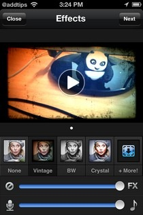 Viddy для Android и iPhone похож на Instagram для видео