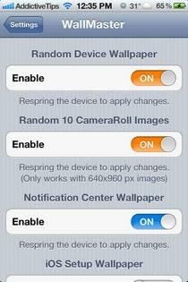 WallMaster предлагает рандомизацию обоев и новые фоны для iPhone