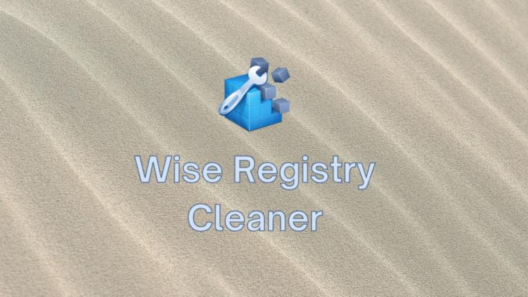 Wise Registry Cleaner (бесплатно) — скачать, установить