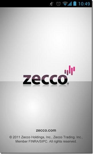 Выпущено официальное приложение Zecco для Android и iOS онлайн-инвестиционного сервиса