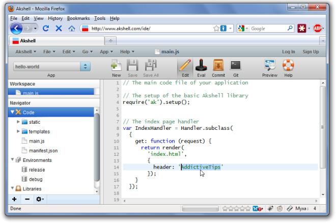 Разработка и публикация скриптов и приложений на основе JavaScript в Интернете