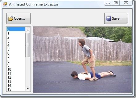 Как извлечь кадры из анимационного изображения GIF