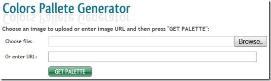 Как создать цветовую палитру любого изображения в Интернете