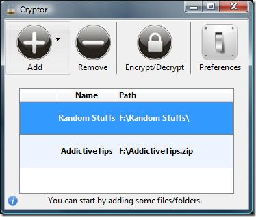 Cryptor — шифрование, безопасность и защита любого файла или папки
