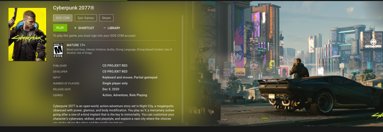 Как использовать потоковую передачу игр GeForce Now в Linux