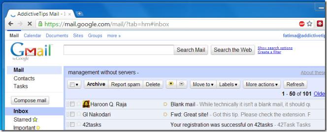 Добавление фотографий контактов в почтовый ящик Gmail в Chrome
