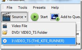 Как сделать резервную копию или скопировать DVD-фильм с помощью HandBrake