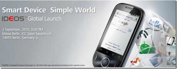Характеристики и цена Huawei Google IDEOS