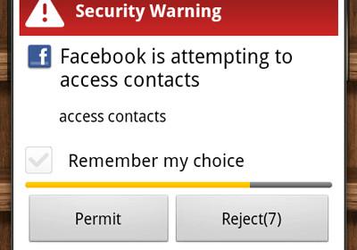 LBE Privacy Guard для Android отслеживает запросы доступа, защищает конфиденциальность