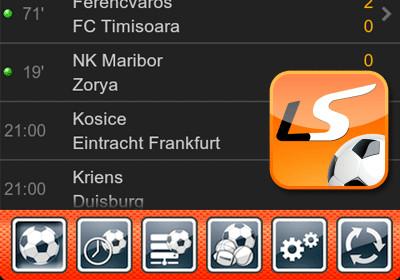Официальное приложение LiveScore приносит спортивные результаты в реальном времени на Android
