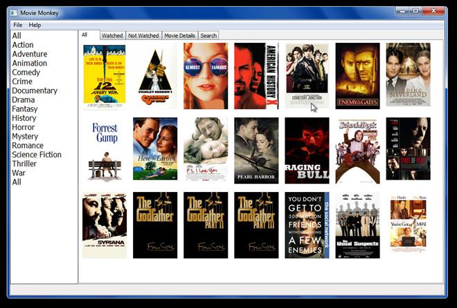Movie Monkey автоматически каталогизирует вашу коллекцию фильмов