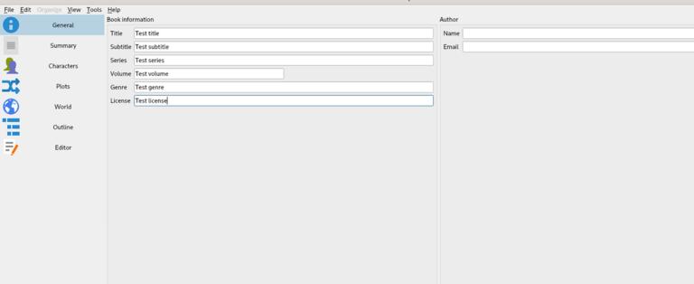 Используйте Manuskript для организации ваших писательских проектов в Linux