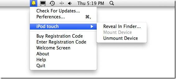 Смонтируйте iPhone и iPad в Finder как локальный USB-накопитель [Mac]