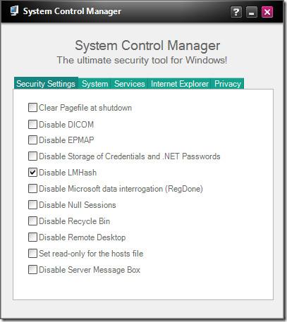 Отключить небезопасные компоненты Windows 7, хакеров и скриптов
