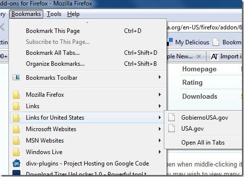 Как легко открыть несколько закладок и URL-адресов в Firefox