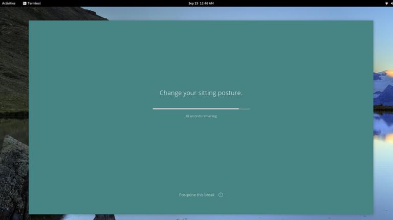 Получайте полезные напоминания на рабочем столе Linux с помощью Stretchly