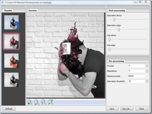 Фотофильтр Tintii — примените эффекты цветоделения к вашим изображениям