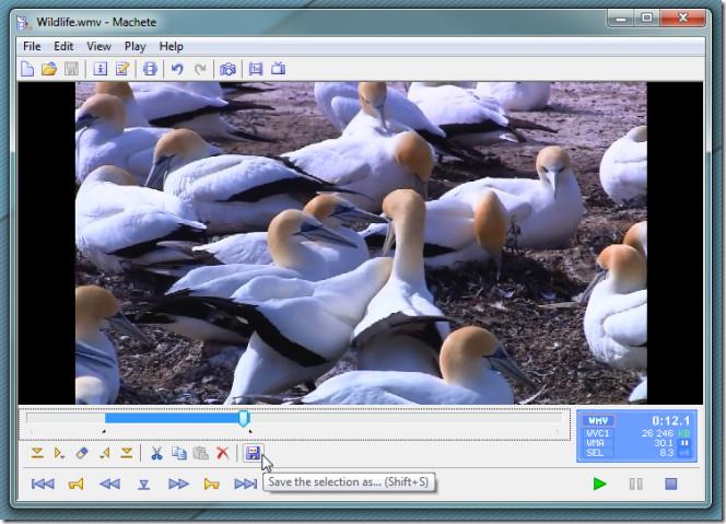 Объединяйте, вырезайте, перемещайте, микшируйте и вставляйте видеофайлы в файлы AVI и WMV с помощью Machete Lite