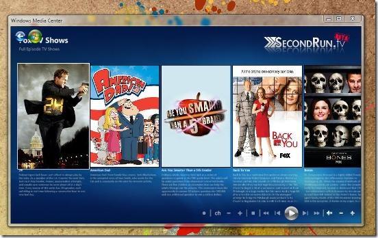 Смотрите Hulu в Windows Media Center