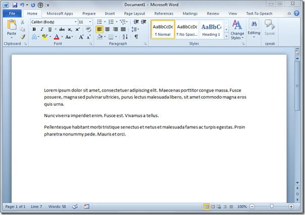 Применение стилистических наборов шрифтов и лигатур в Word 2010