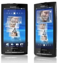 Обновление прошивки Sony Ericsson XPERIA X10 до Android 2.1 Eclair с помощью X10Flash