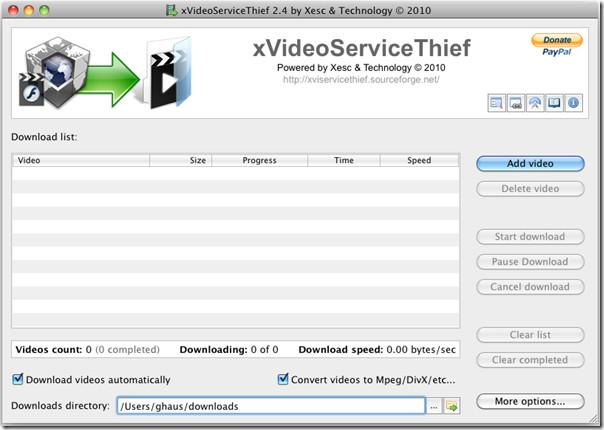 Программное обеспечение для загрузки потокового видео [Mac/Windows/Linux]